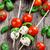 kiraz · domates · fesleğen · gıda · meyve · diyet · sağlıklı - stok fotoğraf © vankad