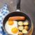 tapas · kiełbasa · jaj · restauracji · oleju · obiedzie - zdjęcia stock © vankad