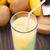 glass of tropical fruit smoothie stock photo © vankad