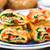 omelet with vegetables and herbs stock photo © vankad