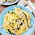 spinazie · parmezaan · vers · basilicum · diner · pasta - stockfoto © vankad