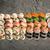 sushi · conjunto · concreto · oito · diferente - foto stock © vankad