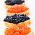 черный · икра · сэндвич · продовольствие · морем · ресторан - Сток-фото © vankad