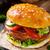 vejetaryen · Burger · öğle · yemeği · sebze · yemek - stok fotoğraf © vankad