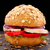 вегетарианский · гриб · Burger · вегетарианский · гамбургер · землю - Сток-фото © vankad