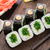 sushi rolls with chuka salad stock photo © vankad