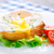 яйцо · сэндвич · свежие · пластина · продовольствие - Сток-фото © vankad
