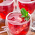 canneberges · cocktail · isolé · blanche · verres - photo stock © vankad