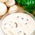 champignon · gomba · krém · leves · tál · felszolgált - stock fotó © vankad