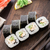 sushi rolls with eel cucumber and sesame seed stock photo © vankad