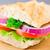 петрушка · лист · сэндвич · холодно · Cut · сыра - Сток-фото © vankad