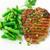 heerlijk · biefstuk · gegrild · plantaardige · champignons · restaurant - stockfoto © vankad