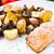 жареный · рыбы · филе · картофель · чипов - Сток-фото © vankad