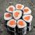 mini roll with salmon stock photo © vankad