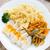 hús · spagetti · fűszeres · mártás · paradicsom · bors - stock fotó © vankad