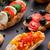 antipasti · cucina · italiana · bruschetta · pepe · pomodoro - foto d'archivio © vankad