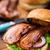 Burger · бекон · обеда · мяса - Сток-фото © vankad