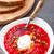 orosz · piros · tejföl · étel · kenyér · vacsora - stock fotó © vankad