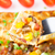 zöldségek · tányér · tojás · sajt · hús · paradicsom - stock fotó © vankad