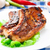 cerdo · chuleta · tabla · de · cortar · hueso - foto stock © vankad