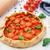 tomate · cherry · tarta · negro · mesa · tomate · cereza - foto stock © vankad