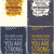 set of vintage typographic poster motivational quotes stock photo © vanzyst