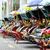 sarı · üç · tekerlekli · bisiklet · olağandışı · araç · sokak · Pekin - stok fotoğraf © vanzyst