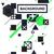 música · fondos · establecer · vector · espacio · resumen - foto stock © vanzyst