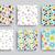 vector decorative seamless patterns set stock photo © vanzyst