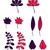 Set of autumn leaves stock photo © Vanzyst