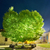green glowing tree in the night park stock photo © vapi