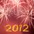 új · év · 2012 · tűzijáték · 3d · illusztráció · új · évek - stock fotó © vapi