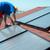 werknemer · zonnepanelen · zonne · water · verwarming · man - stockfoto © vapi