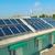 sistema · solar · telhado · solar · água · aquecimento · vermelho - foto stock © vapi