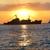statek · wycieczkowy · horyzoncie · wygaśnięcia · mętny · burzliwy · wieczór - zdjęcia stock © vapi