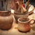 handmade old clay pots stock photo © vapi