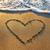coração · areia · casamento · relaxar · ilha - foto stock © vapi