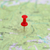 red point on the map stock photo © vapi