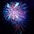 színes · ünnep · tűzijáték · kék · piros · fekete - stock fotó © vapi