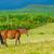 fehér · barna · vad · lovak · mező · kettő - stock fotó © vapi