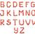 eper · egészség · ábécé · l · betű · fehér · elszigeteltség - stock fotó © vapi