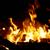 kandalló · láng · tűzifa · égő · tűz · fa - stock fotó © vapi