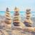 evenwicht · zen · stenen · zand · witte · strand - stockfoto © vapi
