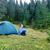 kempingezés · sátor · reggel · napfény · tájkép · felső - stock fotó © vapi