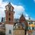 fal · öreg · templom · Lengyelország · kilátás · épület - stock fotó © vapi