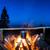 caldeirão · fogo · cozinhar · montanhas · céu · comida - foto stock © vapi