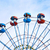 óriáskerék · közelkép · híres · kék · ég · felhők · park - stock fotó © vapi