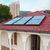 solar panel geliosystem on the house roof stock photo © vapi