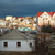 rural houses with storm clouds stock photo © vapi