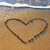 сердце · песок · песчаный · пляж · морем · пена - Сток-фото © vapi